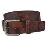 Snap On Oil Tanned Vintage Looking Genuine Leather Belt