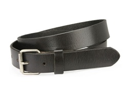 "1 1/8"" Grain Genuine Vintage Retro Leather Belt"