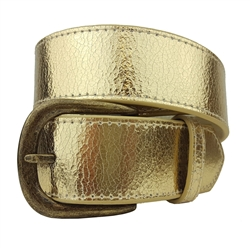 Crack Print Vintage Genuine Leather Belt Strap