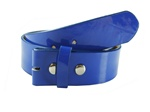 1 1/2'' Snap on Patent leather Belt Strap