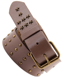 "1.5"" wide genuine crack leather belt"