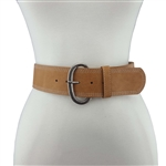 "Womens 2 1/4 "" Wide Belt  with Multi Stitching Detail on the  Edged"