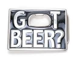 Got Beer Belt Buckle