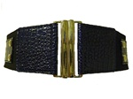 Ladies Croco Stretchy Belt