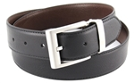Nickel Free Men's Reverse Belt in Black/Brown