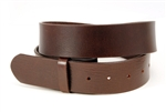 Strap on Snap Genuine Leather Belt Distressed Looking.