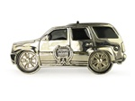 Silver Star Mini SUV Belt Buckle