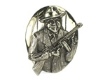 Rock Rebel Mobster Belt Buckle