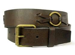Oil Tanned Genuine Leather Belt