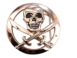 Pirates of the Caribbean buckle in silver