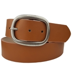 "1.5"" vintage leatherette belt strap with snap"