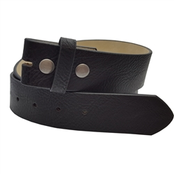"1.5""  Vegan leatherette belt strap with snaps"