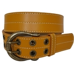 Vegan Double Grommet Jean Belt .