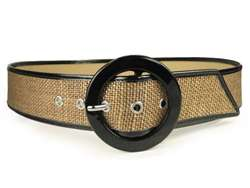Ladies Patent Leather Piping Edge High Waist Fashion Belts