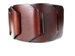 Leather Fashion Wrist Band