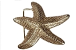 Starfish buckle available in Gold and Silver color