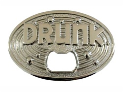 Oval Drunk Cut-out Belt Buckle
