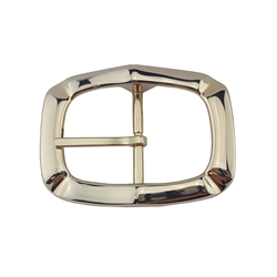 Light Gold finish  Center bar belt buckle