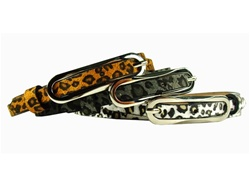Ladies Fashion Leopard Animal Print Belt