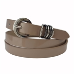 15mm Patent   Ladies Fashion Belt