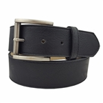 Vegan Plain Belt with Silver Buckle