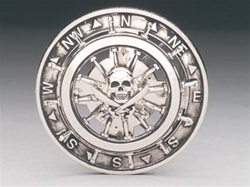 Spinner Pirate Belt Buckle