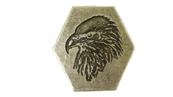 Hexagon Eagle Buckle
